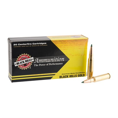 Black Hills Gold Ammo 308 Winchester 155gr Tipped Matchking - 308 Winchester 155gr Tmk 100/Case