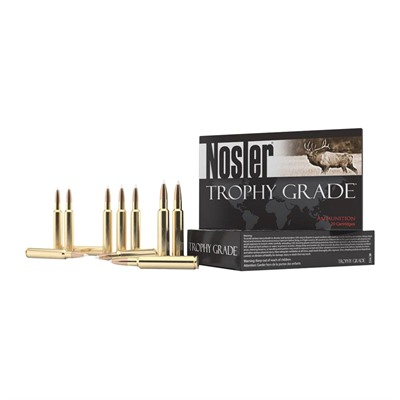 Nosler Trophy Grade Ammo 280 Remington 140gr Accubond - 280 Remington 140gr Accubond 20/Box