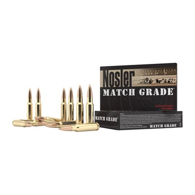 Match Grade Ammo 308 Winchester 155gr Custom Competition - 308 Winchester 155gr Hpbt 20/Box
