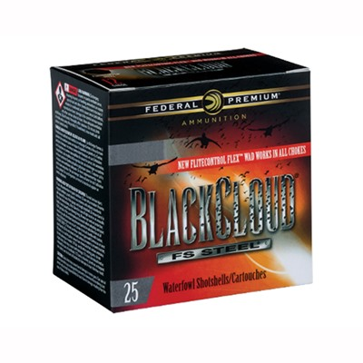 Federal Black Cloud Fs Steel Ammo 12 Gauge 3-1/2