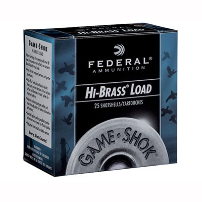 Federal Game-Shok Upland Hi-Brass Ammo 28 Gauge 2-3/4