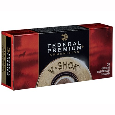Federal V-Shok Ammo 220 Swift 40gr Nosler Ballistic Tip - 220 Swift 40gr Ballistic Tip 20/Box