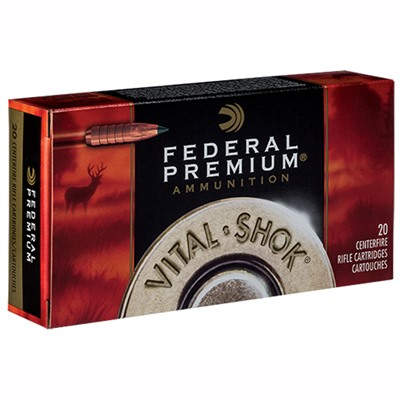 Federal Vital-Shok Ammo 6.5 Creedmoor 120gr Trophy Copper - 6.5mm Creedmoor 120gr Trophy Copper 20/Box