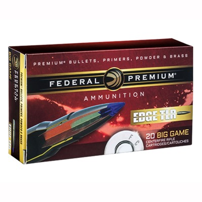 Federal Edge Tlr Ammo 30-06 Springfield 175gr Edge Tlr - 30-06 Springfield 175gr Edge Tlr 20/Box