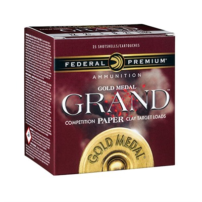 Federal Gold Medal Grand Paper 12 Gauge 2-3/4