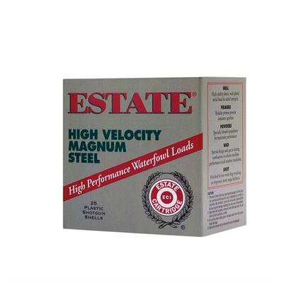 Federal Estate High Velocity Magnum Steel 12 Gauge 3-1/2