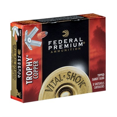 Federal Vital-Shok Trophy Copper Slug 20 Gauge 3