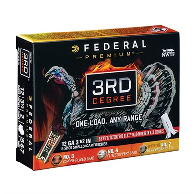 Federal 3rd Degree 12 Gauge 3-1/2