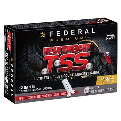 Federal Heavyweight Tss 12 Gauge 3-1/2