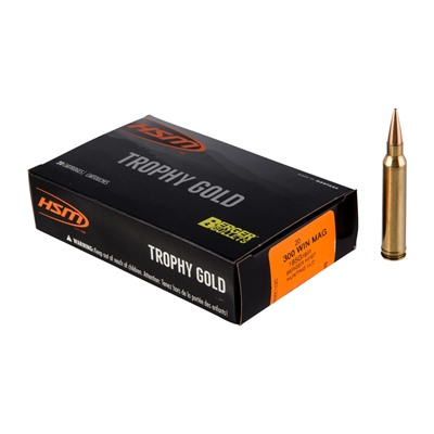 Hsm Ammunition Trophy Gold 300 Winchester Magnum Ammo - 300 Winchester Magnum 185gr Vld Hunting 20/Box