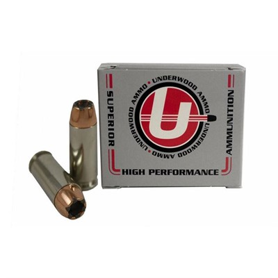 Underwood Ammo 10mm Auto 165gr Speer Bonded Jacketed Hp - 10mm Auto 165gr Bonded Jacketed Hollow Point 20/Box