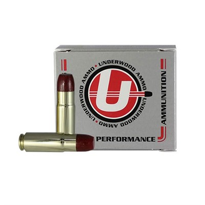 Underwood Ammo 458 Socom 500gr Hi-Tek Coated Hard Cast Flat Nose - 458 Socom 500gr Hi-Tek Coated Hard Cast Flat Nose 20/Box