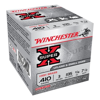 Winchester Super X High Brass 410 Gauge Ammo - 410 Bore 3