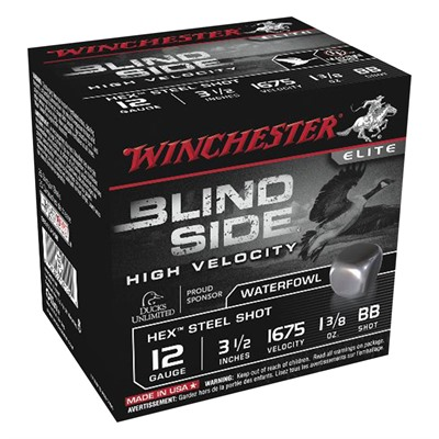 Winchester Blind Side Waterfowl 12 Gauge Ammo - 12 Gauge 3-1/2