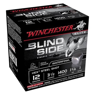 Winchester Blind Side Waterfowl Magnum 12 Gauge Ammo - 12 Gauge 3-1/2