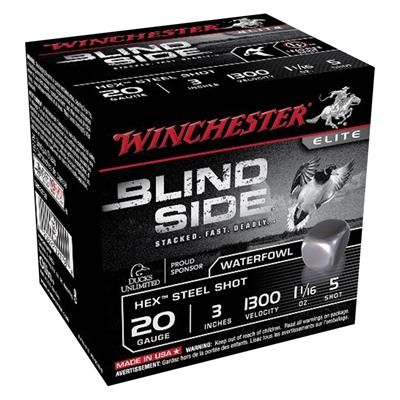 Winchester Blind Side Waterfowl Magnum 20 Gauge Ammo - 20 Gauge 3