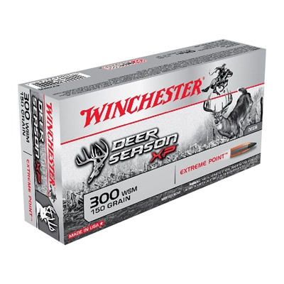 Winchester Deer Season Xp 300 Winchester Short Magnum (Wsm) Ammo - 300 Wsm 150gr Extreme Point Polymer Tip 20/Box