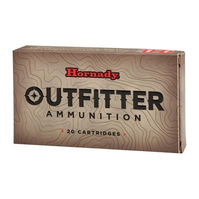 Hornady Outfitter 338 Winchester Magnum Ammo - 338 Winchester Magnum 225gr Gmx Otf 20/Box