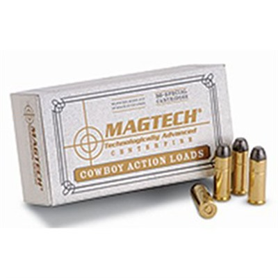 Cowboy Action Ammo 44-40 Winchester 225gr Lfn - 44-40 Winchester 225gr Lead Flat Nose 50/Box