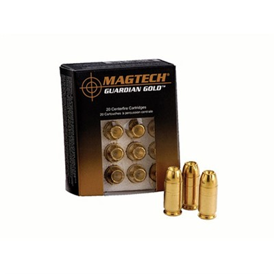 Guardian Gold Ammo 40 S&W 180gr Jhp - 40 S&W 180gr Jacketed Hollow Point 20/Box