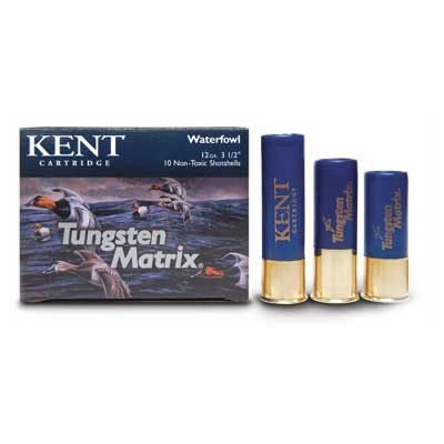 "Kent Tungsten Matrix Waterfowl Ammunition - 20 Gauge 2-3/4"" 1 Oz #5 Shot 10/Box"