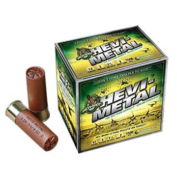 "Image of Environ-Metal Inc. Hevi-Metal Waterfowl Ammo 12 Gauge 3-1/2"" 1-1/2 Oz #3 Shot"