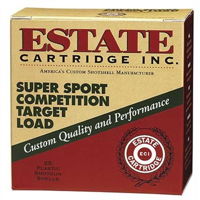 Estate Cartridge Super Sport Competition Ammo 12 Gauge 2-3/4