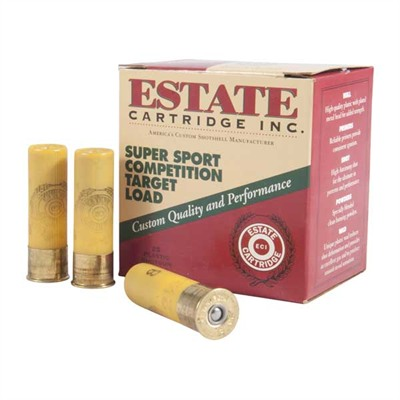 Estate Cartridge Super Sport Competition Ammo 20 Gauge 2-3/4