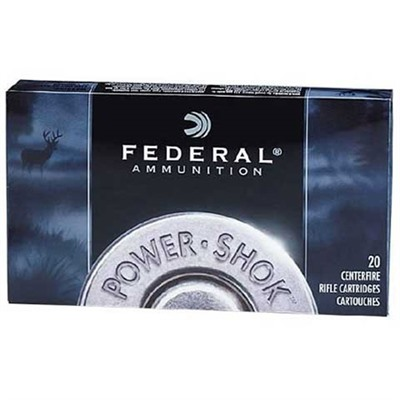 Federal Power Shok Speer Hot Cor Rifle Ammunition Federal Ammo 30 06 Spgfld 220gr Phtrsprn 20rnds/Bx Discount