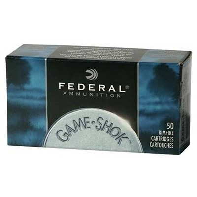Federal Game-Shok Shotshell Ammunition - Federal Ammo 22lr Bird Shot #12 Lead Shot 50/Bx