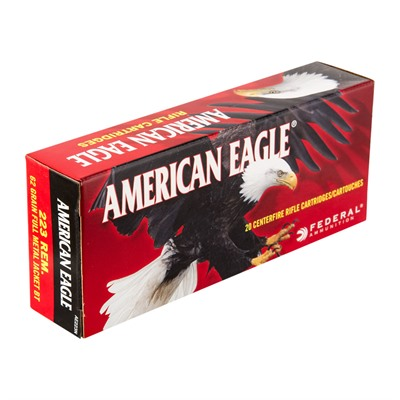 American Eagle Tactical Ammo 223 Remington 62gr Fmj - 223 Remington 62gr Full Metal Jacket 20/Box