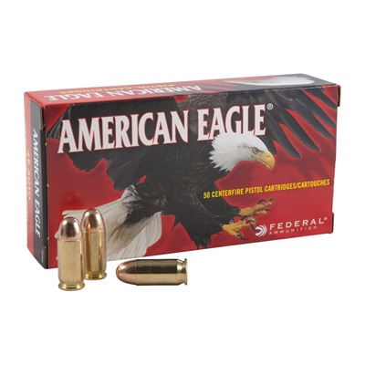 Federal American Eagle Handgun Ammunition - Federal Ammo 45 Acp 230gr Fmj American Eagle 50/B