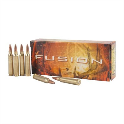 Federal Fusion Rifle Ammunition - Federal Ammo 223 Rem 62gr Fusion 20bx