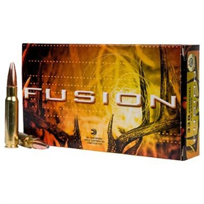 Federal Fusion Rifle Ammunition - Federal Ammo 338 Federal 200gr Fusion 20bx