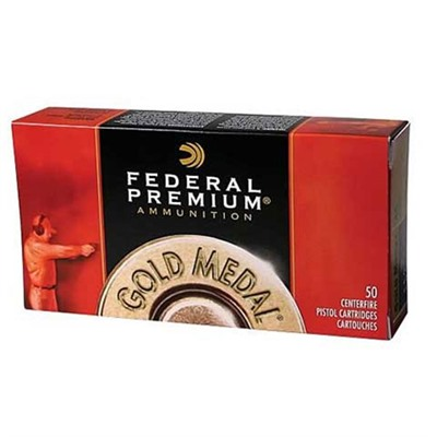 Gold Medal Pistol Ammunition - Gold Medal 45 Acp 185gr Fmj Semi-Wc 50/Box