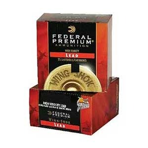 Federal Wing-Shok High Velocity Ammo 12 Gauge 3