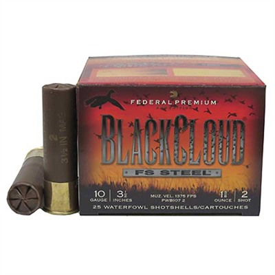 Premium Black Cloud Shotshells - Federal Ammo 20ga 3    1oz Black Cloud 25bx