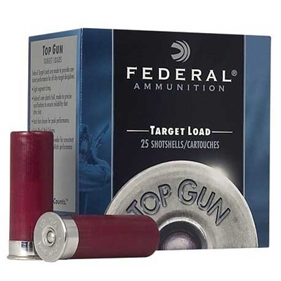 Federal Top Gun Light Ammo 12 Gauge 2-3/4