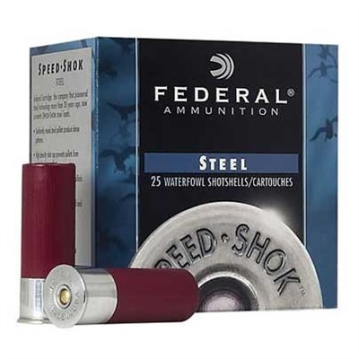 Speed-Shok Waterfowl Ammunition - Federal Ammo 12ga Speed-Shok 3    125oz #2 25bx