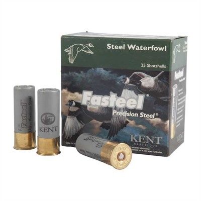 Kent Cartridge Fasteel Waterfowl Ammo 12 Gauge 3-1/2