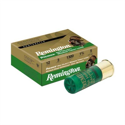 Highvelocity Magnum Copperplated Buffered Turkey - Rem Ammo 28022 #4 12ga Premier High Vel Mag Turke