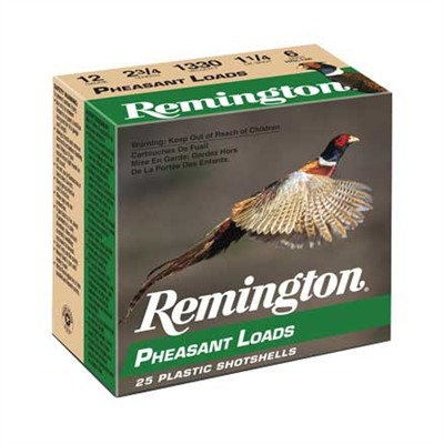 "Pheasant Ammo 12 Gauge 2-3/4"" 1-1/4 Oz #6 Shot - 12 Gauge 2-3/4"" 1-1/4 Oz #6 Shot 25/Box"