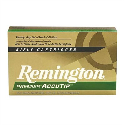 Premier Accutip Rifle Ammo - 223 Remington 50gr Accutip-V Boat Tail 20/Box