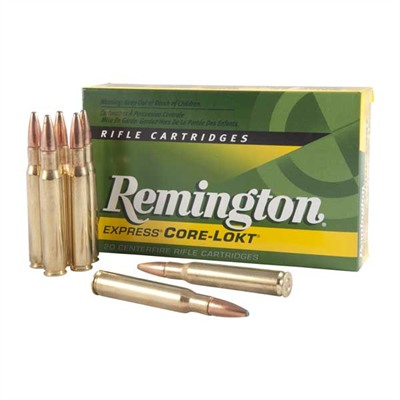 Core-Lokt Ammo 30-06 Springfield 150gr Pointed Sp - 30-06 Springfield 150gr Pointed Soft Point 20/Bo