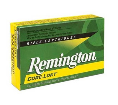 Core-Lokt Ammo 7mm Remington Magnum 140gr Pointed Sp - 7mm Remington Magnum 140gr Pointed Soft Point