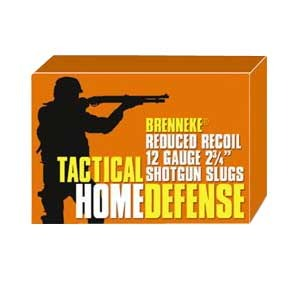 Brenneke Tactical Home Defense Shotgun Ammunition - Usa Brenneke Ammo Home Def12ga2 3/4    1oz 5bx