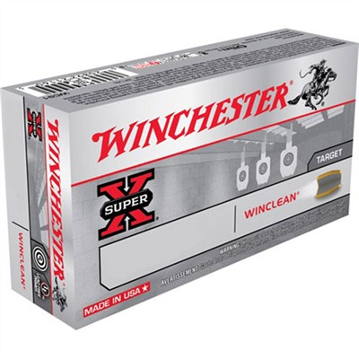 Winchester Winclean Ammo 9mm Luger 115gr Beb