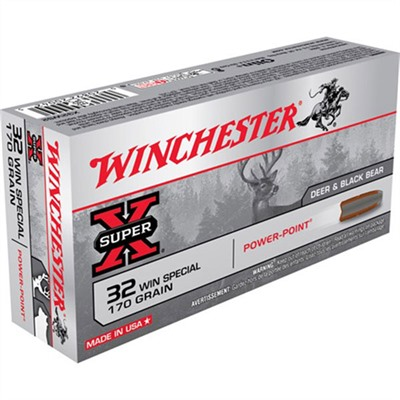 Winchester Super X Ammo 32 Winchester Special 170gr Power Point 20/Box Online Discount