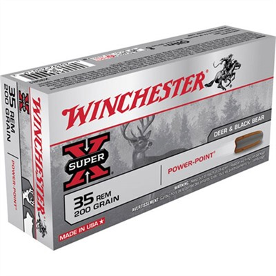 Winchester Super-X Ammo 35 Remington 200gr Power-Point