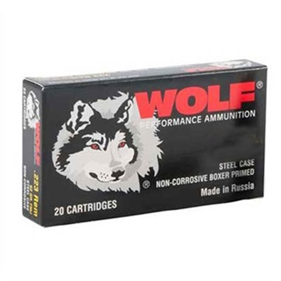 Wolf Polyformance Ammo 223 Remington 55gr Fmj